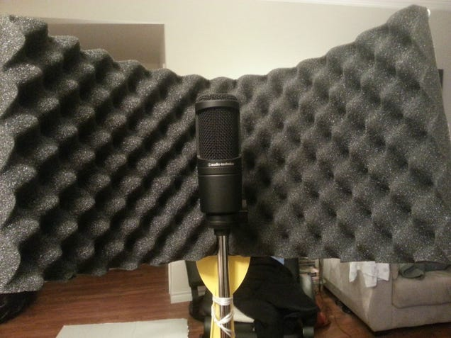 Diy Studio Mic Gobo Shield