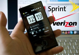 Illustration for article titled Verizon and Sprint Both Getting Blessed With HTC Touch Pro and Diamond
