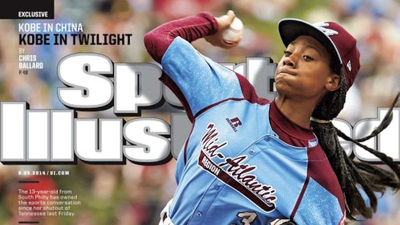Illustration for article titled Mo'ne Davis Lands the Cover of Sports Illustrated