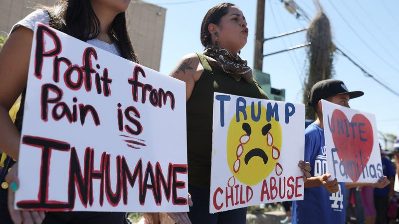 Illustration for article titled Trump Administration Plans to Pay for Costs of Imprisoning Migrant Children by Stealing From HIV/AIDS Program