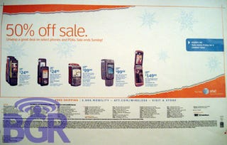 Illustration for article titled AT&T Black Friday Offers 50% Off Phones Not the iPhone