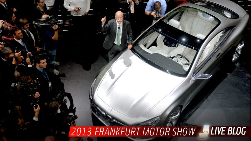 Illustration for article titled See All The New Cars First On Our Frankfurt Motor Show Liveblog