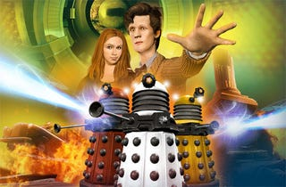 Illustration for article titled Brits Get Their Free Dr. Who Adventures Early