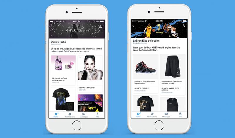 Illustration for article titled Twitter estrena catálogos para que compres desde la red social