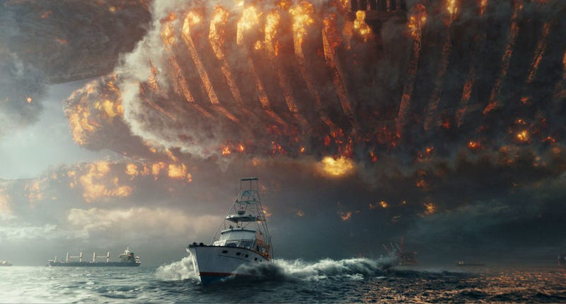 The aliens are back in Independence Day Resurgence. What's not back is the sense of wonder. All Images: 20th Century Fox