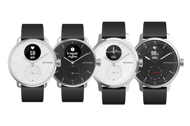 Withings s Latest Smartwatch Doubles Down on Medical Wearables