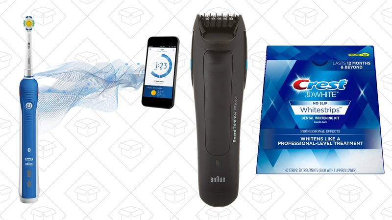 Save 45% or more on oral care and shavers