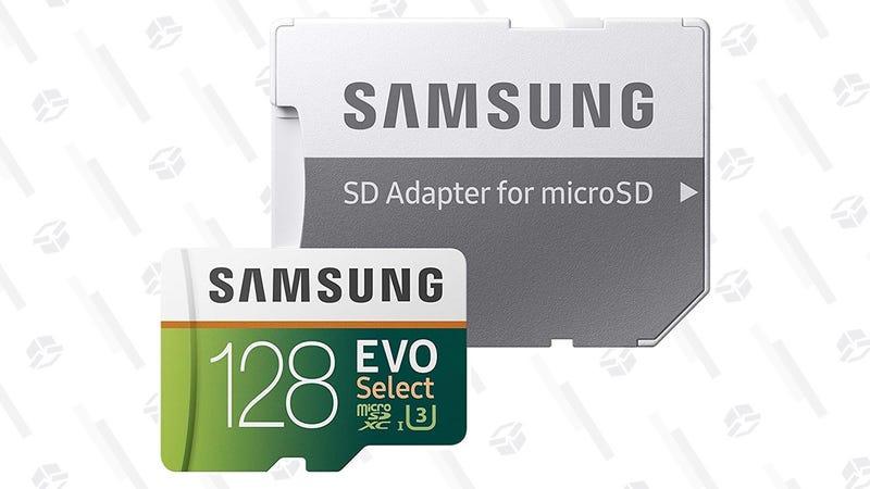 Samsung U3 32GB MicroSD Card   $12   AmazonSamsung U3 64GB MicroSD Card   $18   AmazonSamsung U3 128GB MicroSD Card   $35   AmazonSamsung 256GB MicroSD Card   $90   AmazonGráfico: Shep McAllister