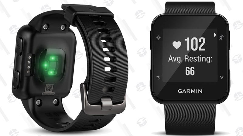Refurb Garmin Forerunnr 35 GPS Watch | $112 | Amazon | Also available in frost blue