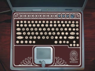 Illustration for article titled Mod your Laptop into a Portable Typewriter and Adding Machine