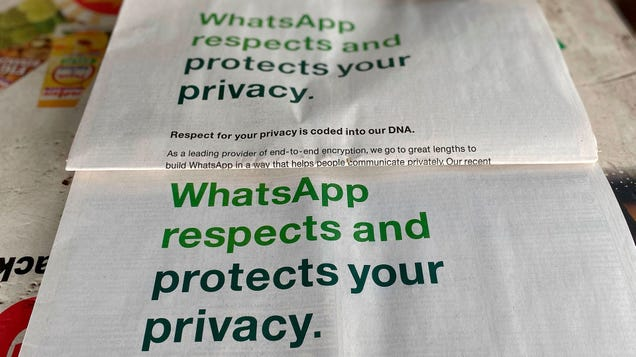 After Failing to Tweet Through It, WhatsApp Delays Privacy Policy Updates