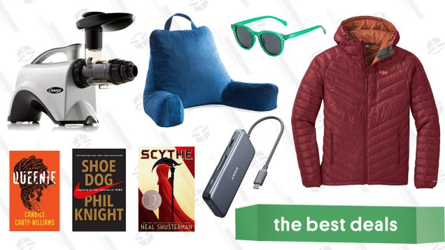 Sunday s Best Deals: REI Outlet, Weighted Blankets, Omega Juicer, and More