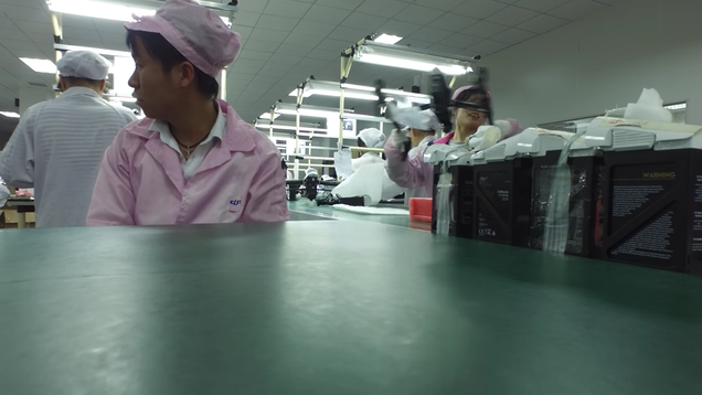 DJI Accidentally Gives Customer a Tour of Its Drone Factory