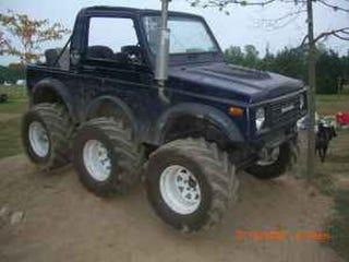 Amazing Suzuki Samurai Six Wheeler For Sale On Craigslist