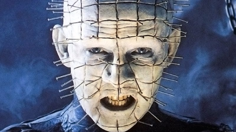 Illustration for article titled The lonesome death of pop culture icon Pinhead