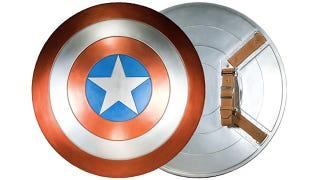 Illustration for article titled Battle Subway Crowds With a Perfect Replica Of Captain America's Shield