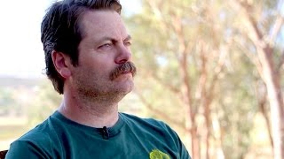 Image of: Pandr Jezebel Nick Offerman Reads The Best Posts From Reddits shower Thoughts