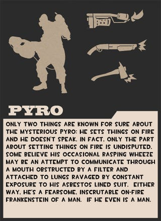 Illustration for article titled Valve Taunts Us With Pyro Card