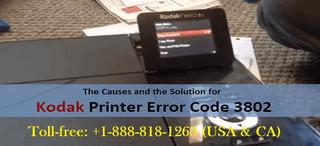 Illustration for article titled How to Fix Kodak Printer Error Code 3802?
