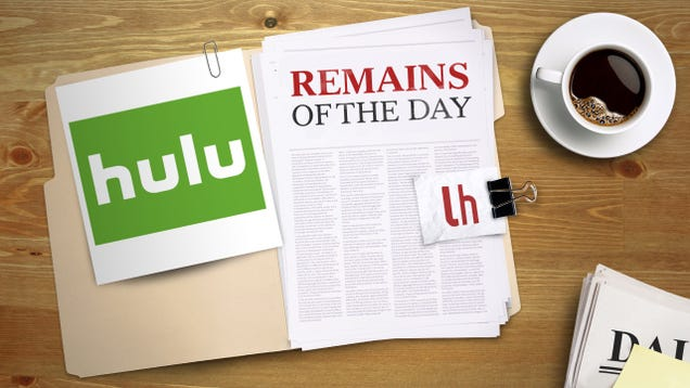 Remains of the Day: Offline Playback Is Coming to Hulu