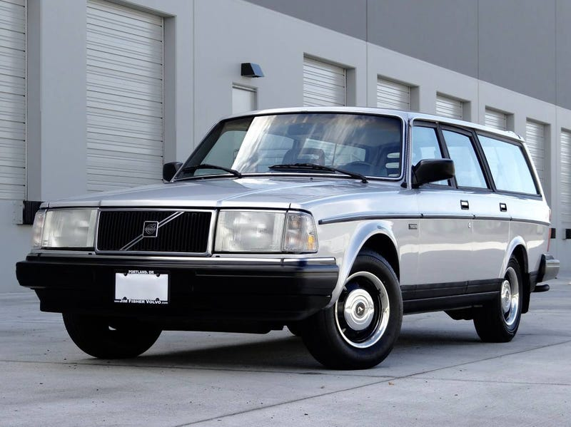 Illustration for article titled Could This Amazingly Clean 1987 Volvo 245 DL Really Be Worth $14,500?