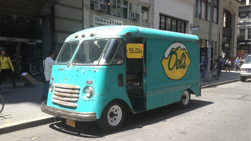 Step Up To This 1949 Chevy Step Van