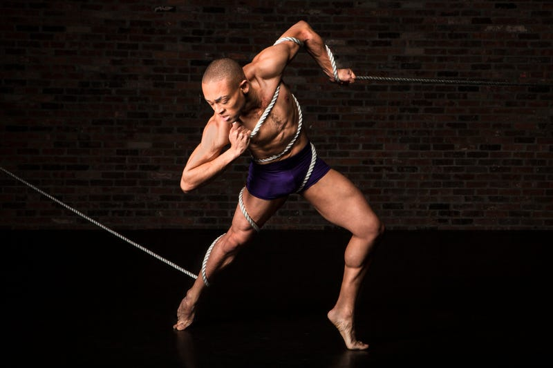 Choreographer Jeremy McQueen in the Black Iris ProjectJubal Battisti