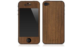Illustration for article titled Real Wood Paneling Turns iPhone 4 Into Lusty 70s Electronics