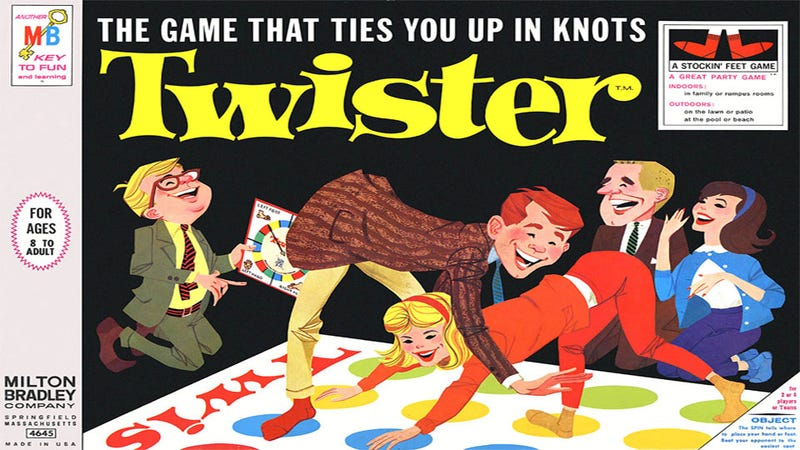 Illustration for article titled Video Game Version of Twister Offers Fewer Flirting Opportunities