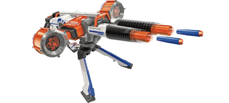 Although they're still designed with kids in mind, who among us doesn't  have a Nerf blaster tucked away in a desk drawer, or hidden inside a carved  out ...