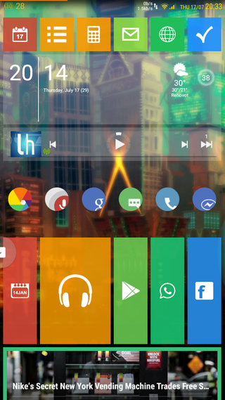 Illustration for article titled Android Win8 Tiles colorful Homescreen
