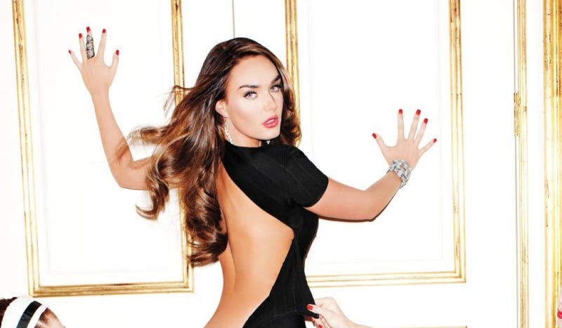 Illustration for article titled This Is The First NSFW Photo From Tamara Ecclestone's Playboy Shoot