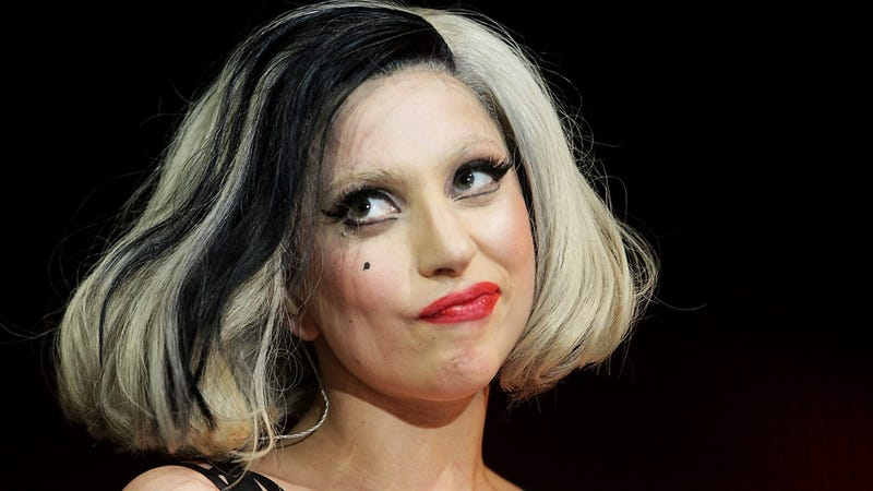 Lady Gaga disapproves. Imagen: Bauer-Griffin