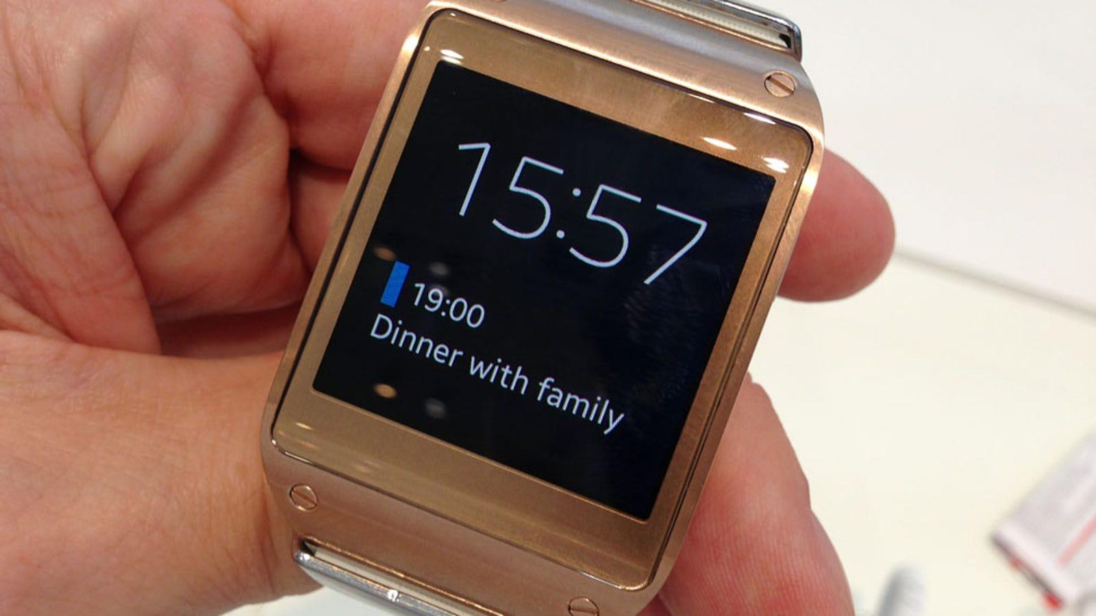 Samsung Galaxy Gear, análisis: demasiado caro para lo que ofrece