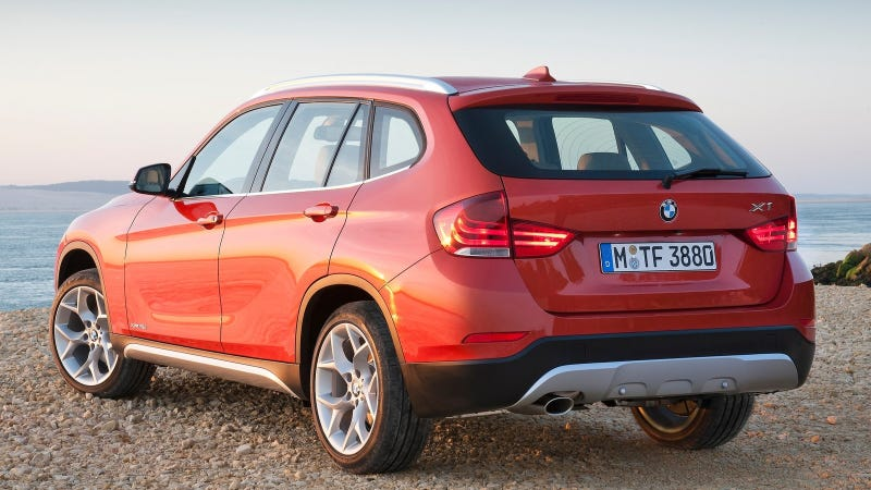 Illustration for article titled The 2016 BMW X1 Is Next On Their Front-Drive Platform Agenda