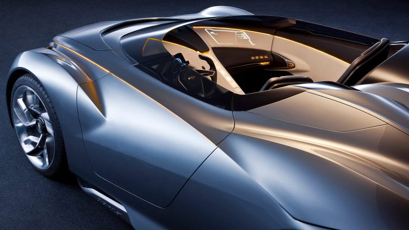 Illustration for article titled Does This 2011 Concept Car Preview the Mid-Engine Corvette?