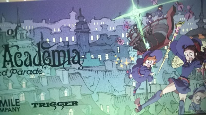 Illustration for article titled AX a Real Experience: Day 2; Little Witch Academia