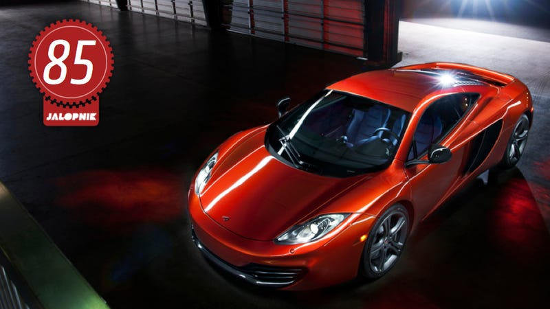 Illustration for article titled McLaren MP4-12C: The Jalopnik Review