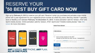 Illustration for article titled Get a $50 Best Buy Gift Card When You Upgrade Your Phone This Year