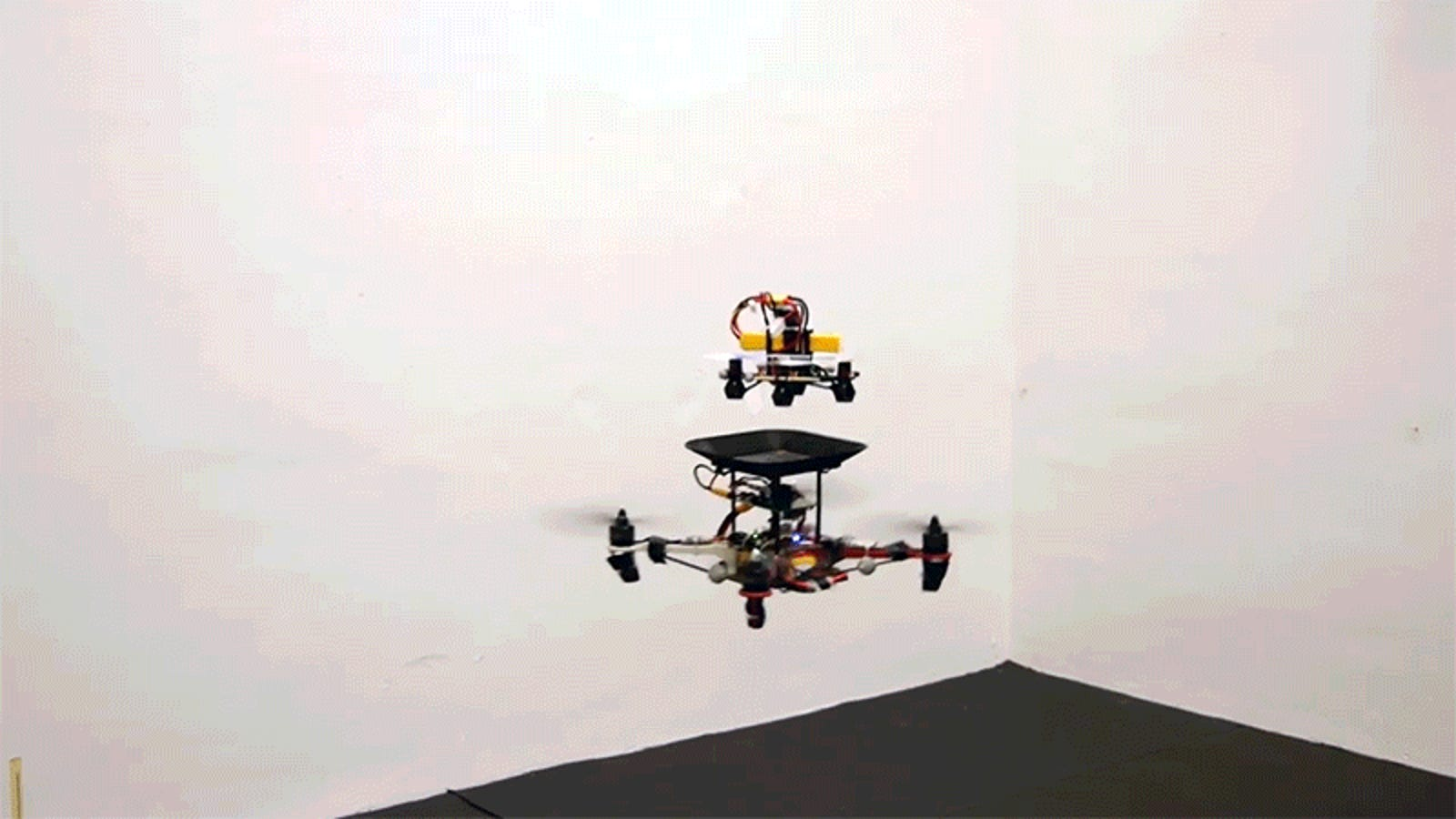 Flying Replacement Batteries Could Massively Boost a Drone's Flight Time