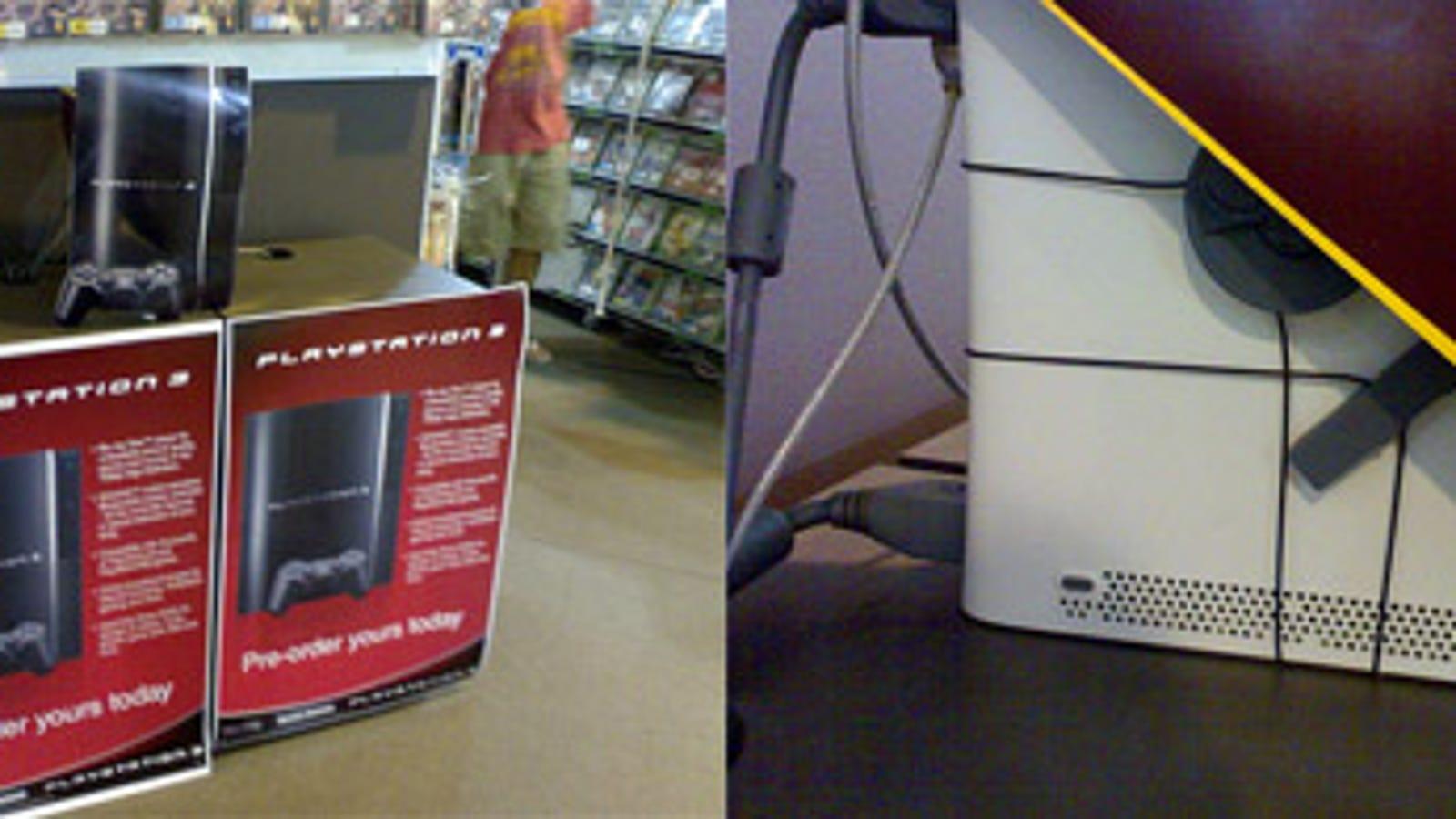 Australian Store Uses Xbox 360 As PS3 Kiosk