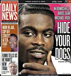 Illustration for article titled Mike Vick And Dogfighting's Rise In Philly
