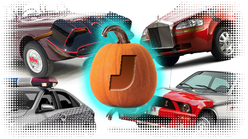 Illustration for article titled Here Are Some 'Car-Stumes' To Make Your Car Spooky And Fun For Halloween