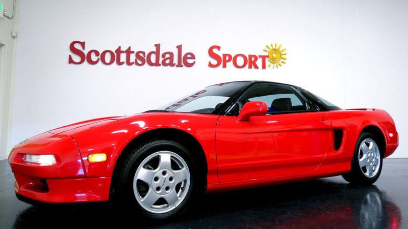 Illustration for article titled This Super Clean 1991 Acura NSX Is Going For $185,000