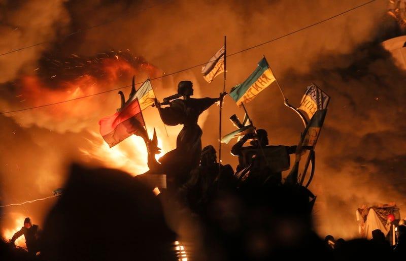 Illustration for article titled Kijev lángokban