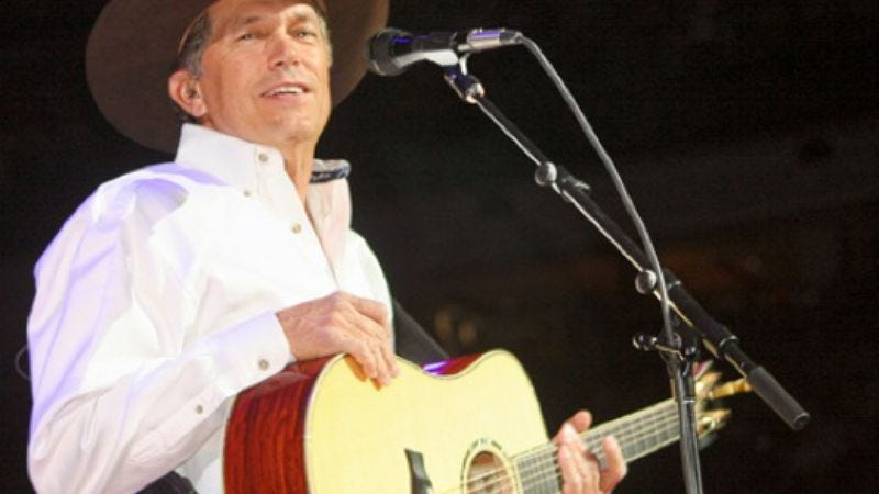 Illustration for article titled More popular than you think: Broadway; George Strait.