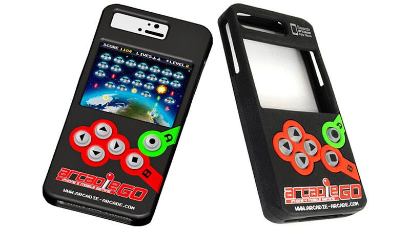 Illustration for article titled Give Your iPhone Games the Buttons They Deserve With This Arcade Case