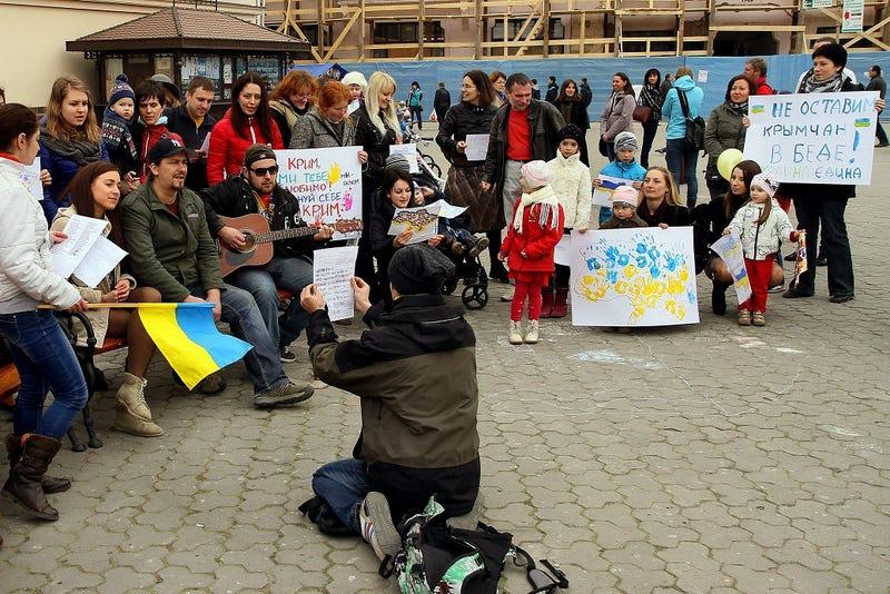 Illustration for article titled Oroszország vétót emelt az ENSZ-ben a krími népszavazás ügyében