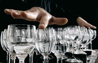 "Illustration for article titled Make Your Own ""Inverted"" Glass Harp with Just One Glass"