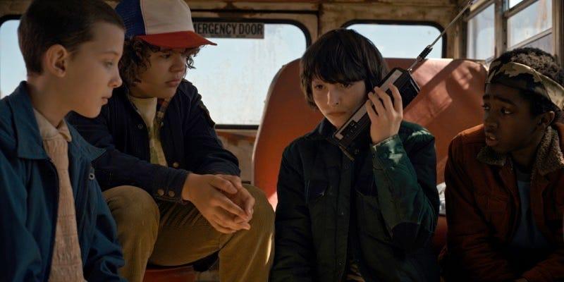 Stranger Things image: Netflix